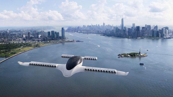 Un taxi zburător electric