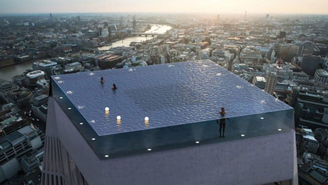 În Londra va fi construită o piscină infinity cu vizibilitate de 360 de grade