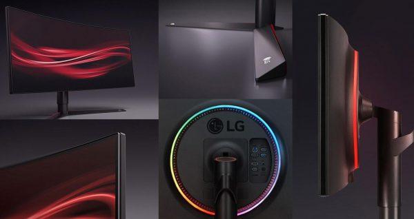 LG UltraGear 34GK950G Ultrawide RGB Light