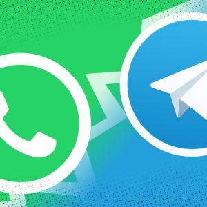 Schimbați setările WhatsApp și Telegram