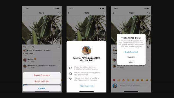 Se întâmplă în tech luni Instagram testează o funcționalitate care permite utilizatorilor interzicerea accesului la postări a celor care îi agresează