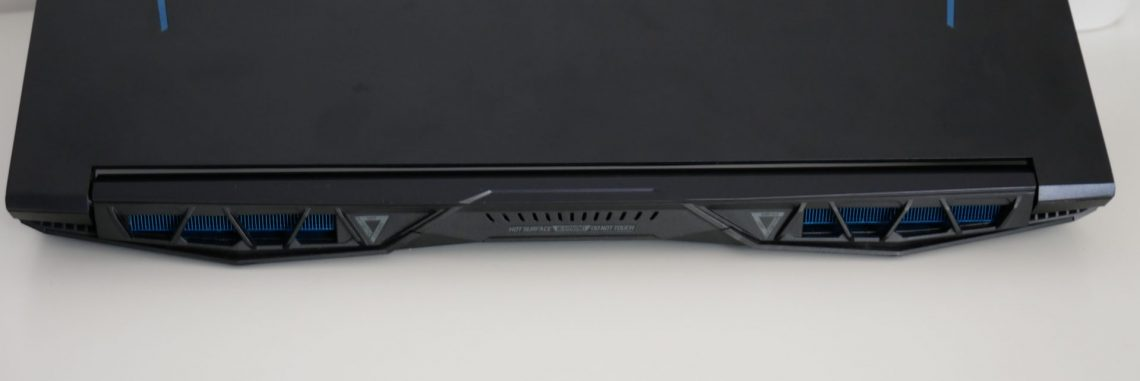 Acer Predator Helios 300 racire
