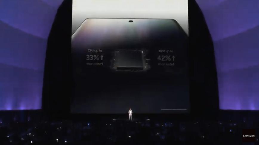 samsung note 10 procesor