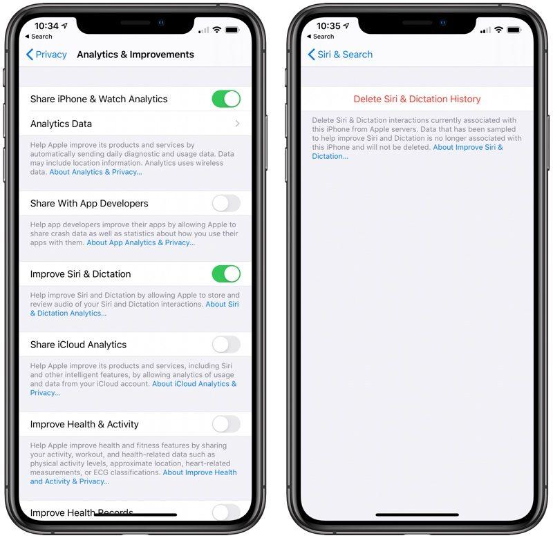 iOS 13.2 îmbunătățește SIRI