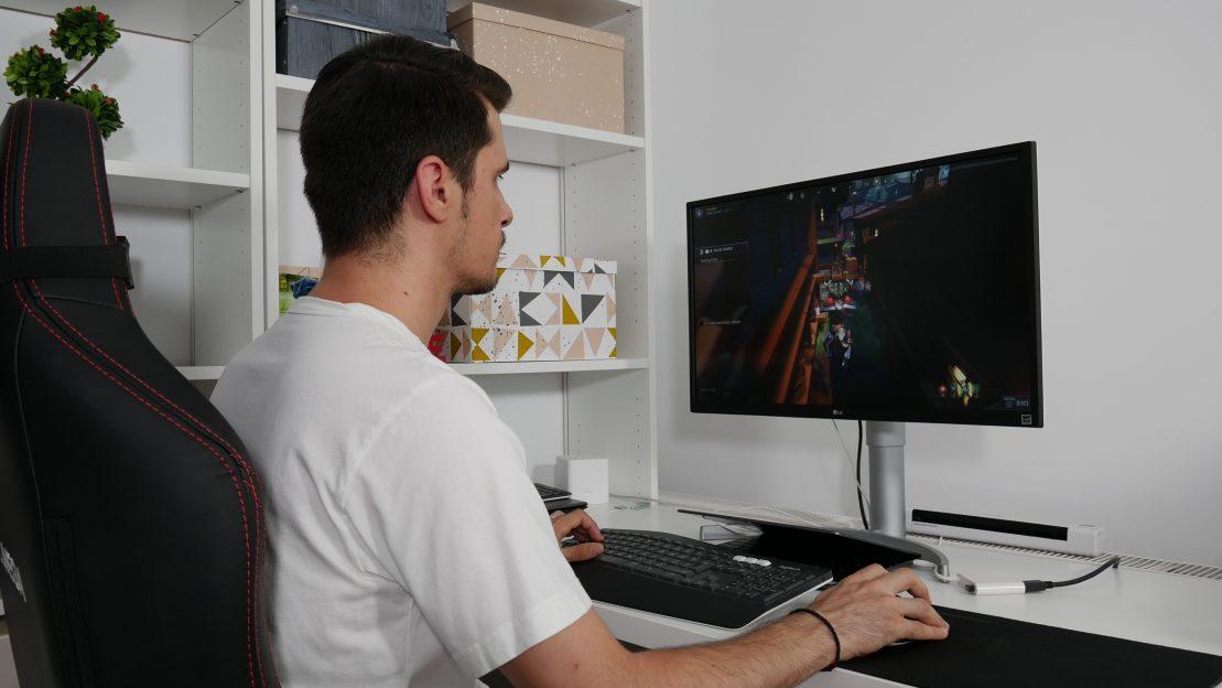 gaming LG 27UL550-W