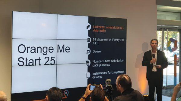 Orange lansează 5G și anunță un parteneriat exclusiv cu Samsung