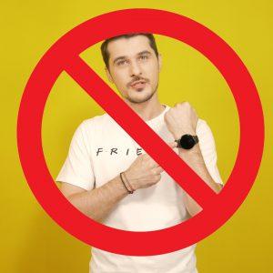 Ai voie să foloseșți un smartwatch?
