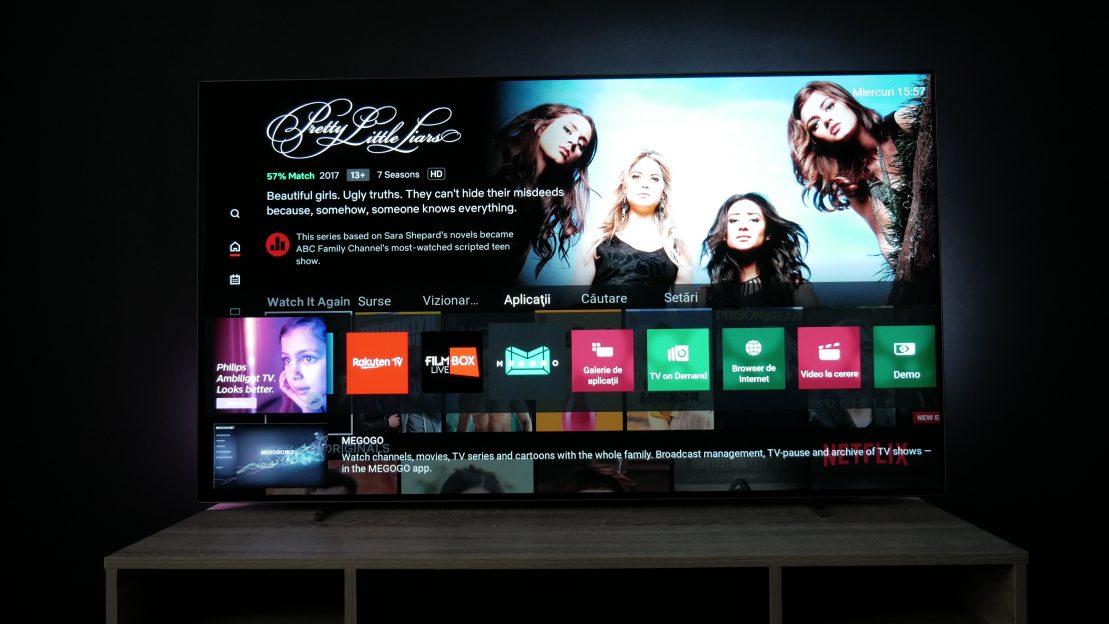 Cum e Philips TV OLED 754