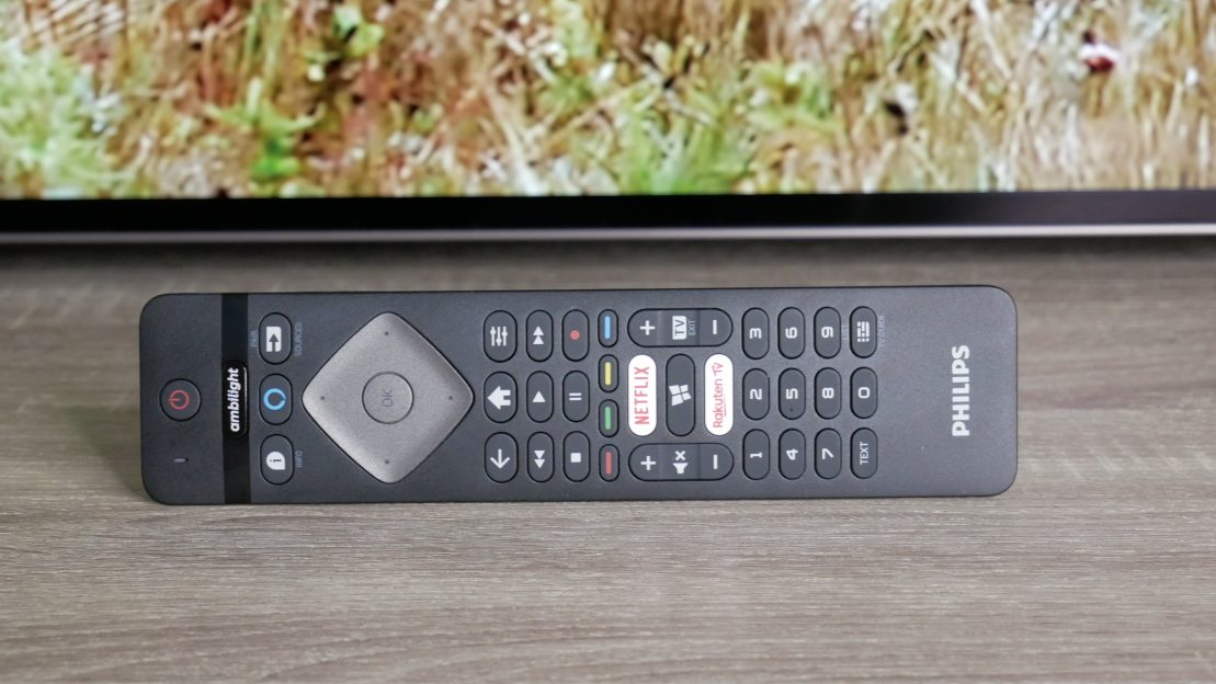 Philips TV OLED 754 telecomanda