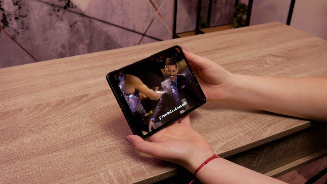 Samsung Galaxy Fold - Șanț