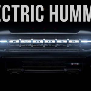 Prima mașină electrică Hummer