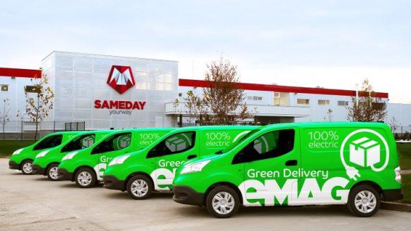 eMAG lansează eMAG Green Delivery