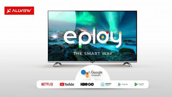 Allview lansează noile televizoare cu Android