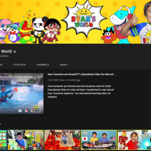 YouTube va investi în conținut pentru copii