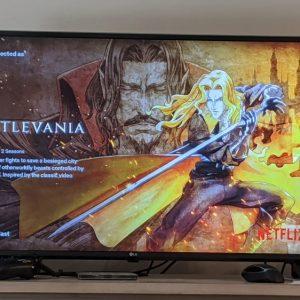Netflix Chromecast interfata