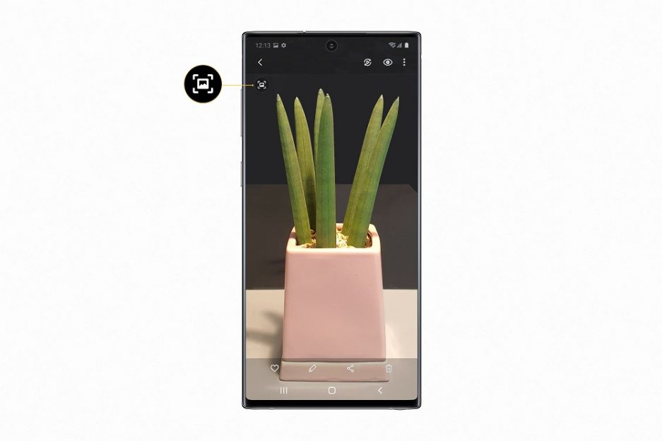 Quick Crop disponibil pe Galaxy Note10
