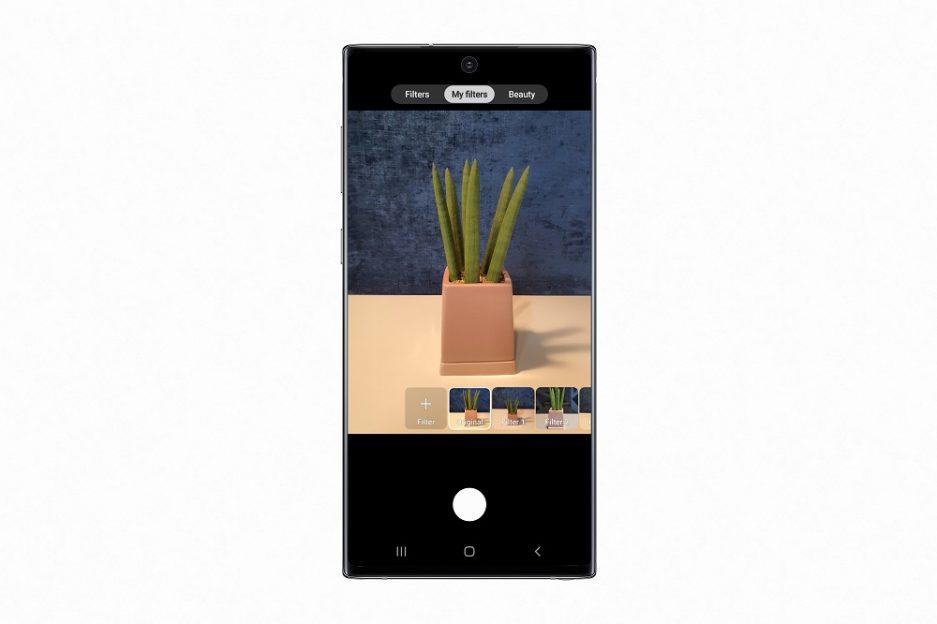 Cum este utilizat Custom Filter pe Galaxy Note10