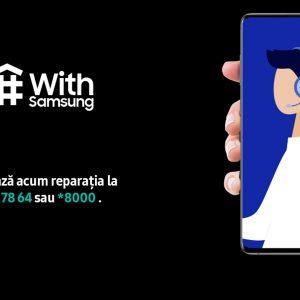 Service și asistență Samsung de la distanță în starea de urgență