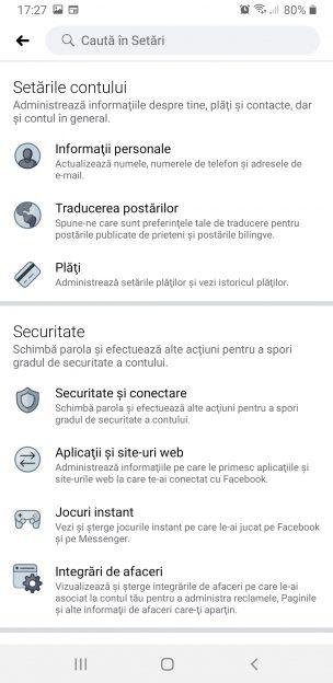 Cum stabilești autentificarea în doi pași pe Facebook