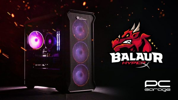 "PC Garage: ""Balaur by HyperX"", un PC de gaming sub 4000 lei"