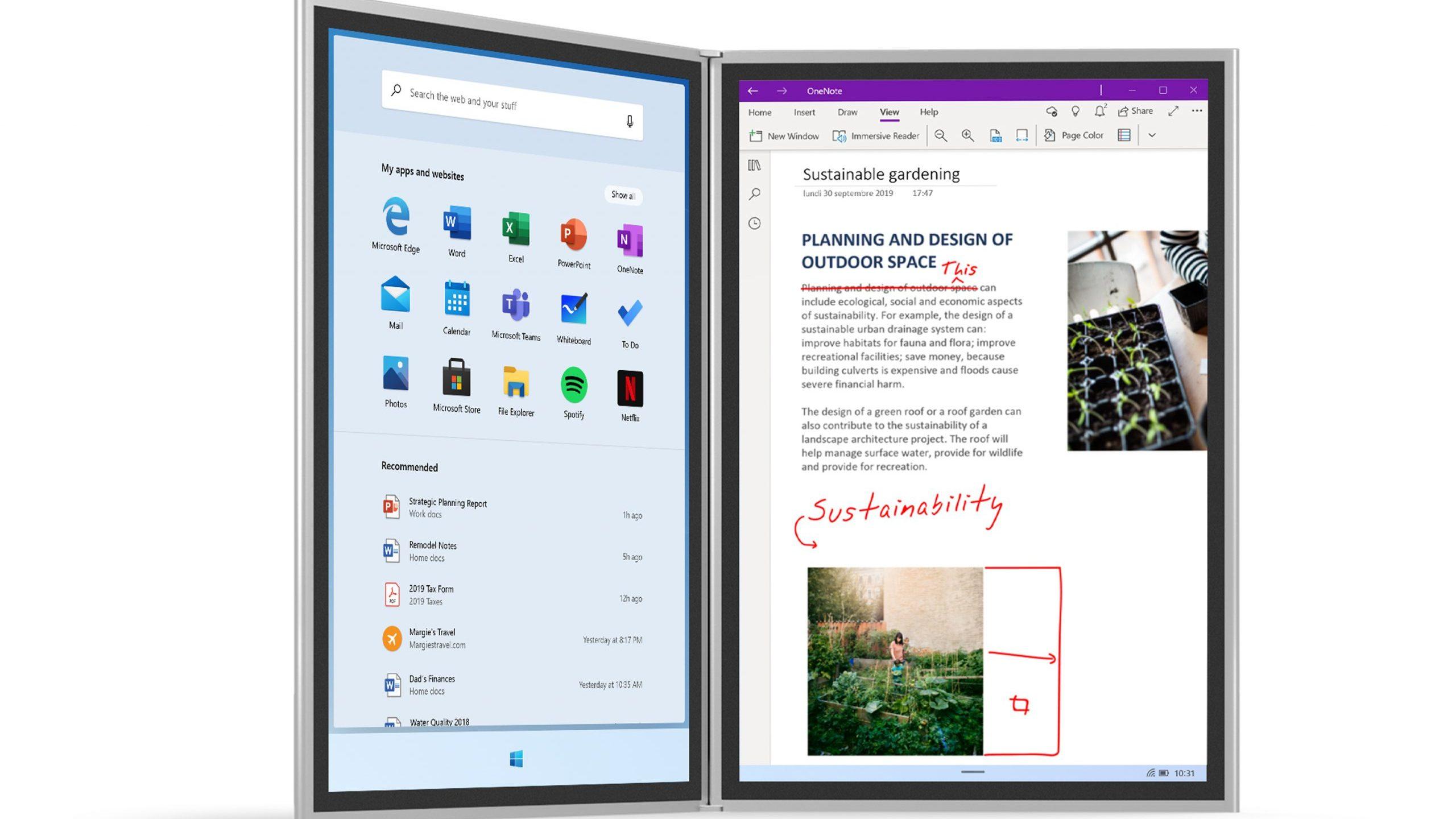 Windows 10X pare să devină competitor