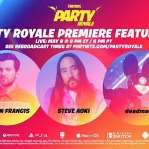 Party Royale începe oficial