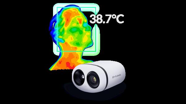 D-Link lansează camera termografică DCS-9500T
