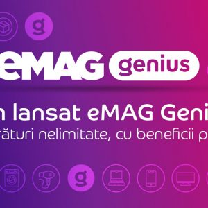 eMAG lansează Genius