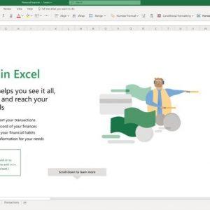 Microsoft poate importa activitatea bancară în Excel