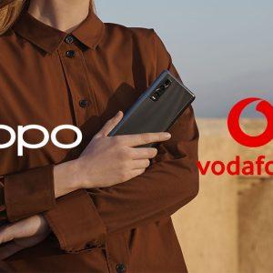 OPPO și Vodafone anunță un parteneriat