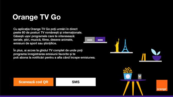 Orange lansează Orange TV Go