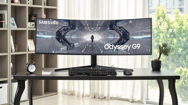 Samsung lansează Odyssey G9