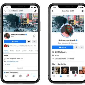 Facebook testează un nou design