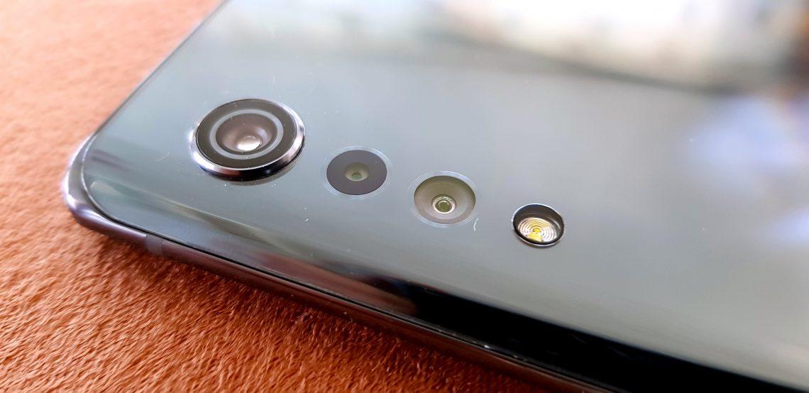 LG Velvet 5G modul camera