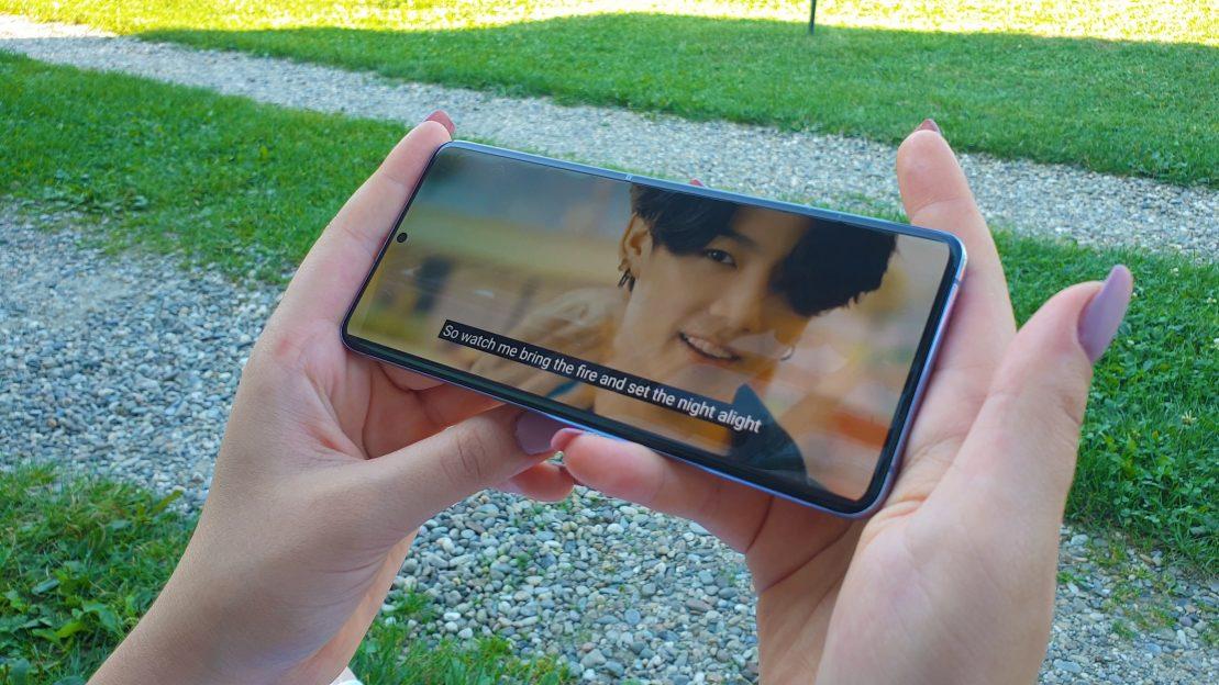 Review-ul Mariei pentru Samsung S20+ BTS:
