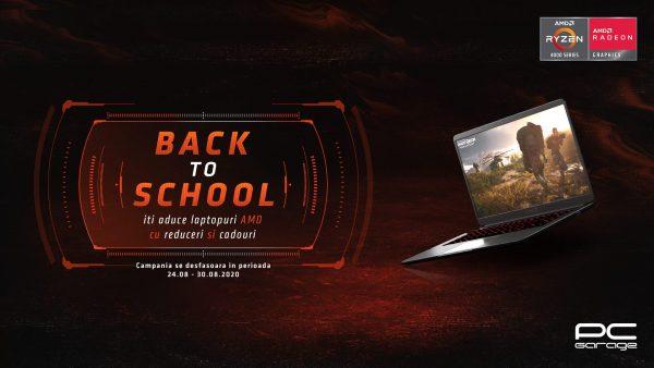 PC Garage anunţă o săptămână de reduceri şi cadouri pentru laptop-urile AMD Ryzen