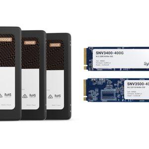 Synology a lansat propria gamă de unități de stocare SSD