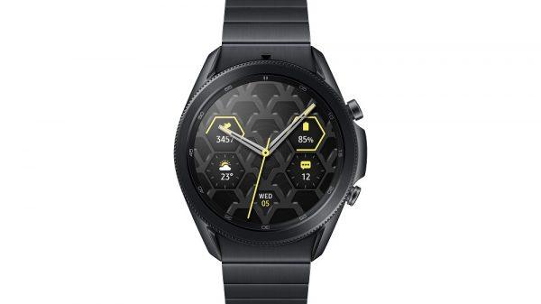 Samsung anunță Galaxy Watch3 din titan