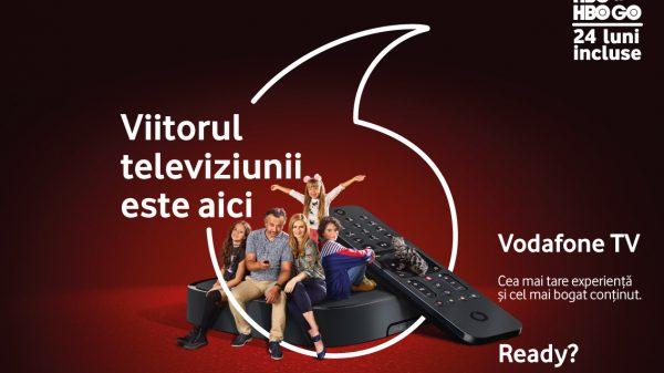 Vodafone TV se lansează