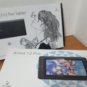 Star 03 V2 Pen Tablet și Artist 12 Pro