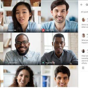 Google Meet oferă Q&A și sondaje