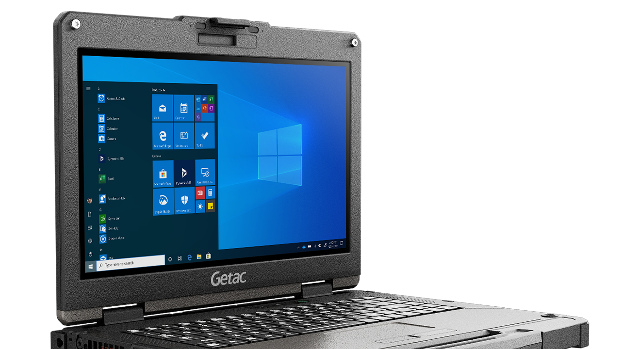 Laptopul complet rigidizat Getac B360