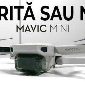 Review DJI Mavic Mini: Mică, dar îți faci treaba cu ea