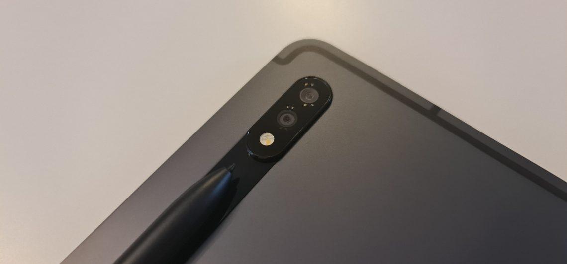 camera galaxy tab s7
