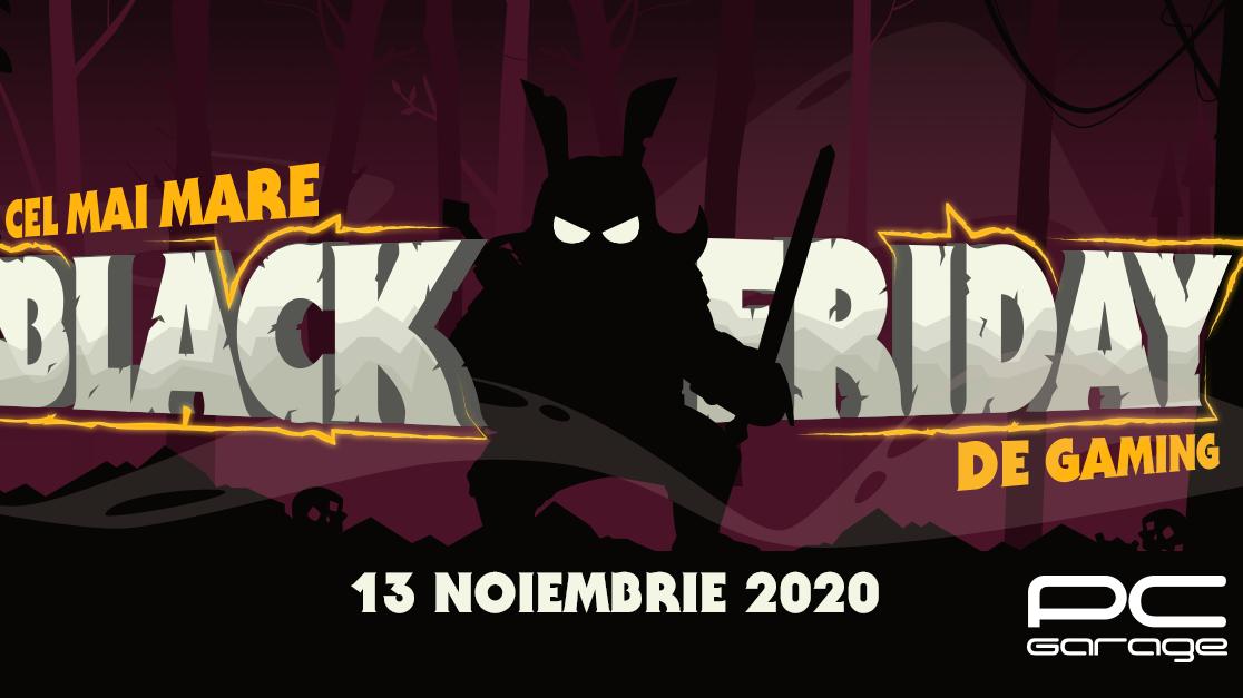 PC Garage dă startul Black Friday