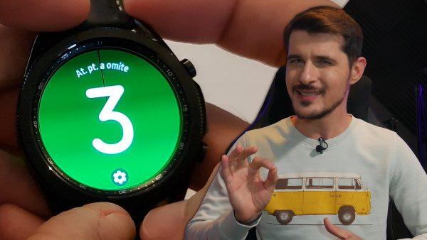 Samsung Galaxy Watch 3: Top 5 funcționalități care mi-au plăcut