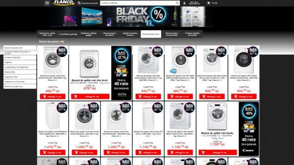 Vânzările Flanco pe online