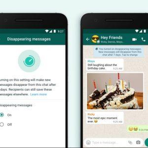 WhatsApp îți va permite să autodistrugi mesajele