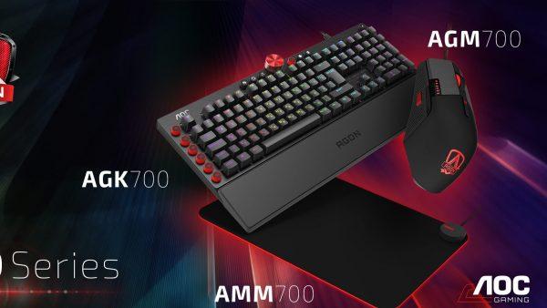 AOC lansează noi accesorii de gaming