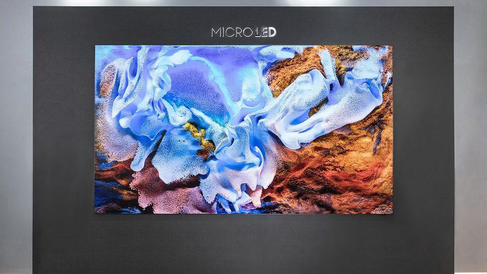 """Samsung lansează Samsung MicroLED de 110"""""""